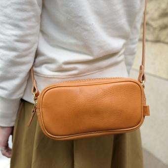 レディースバッグで人気のもこっと茶色ショルダー