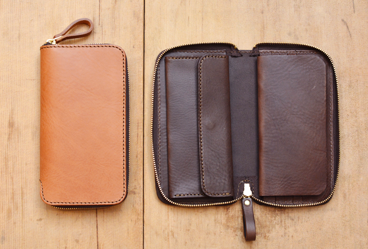 ヘルツの財布 ラージファスナーウォレット