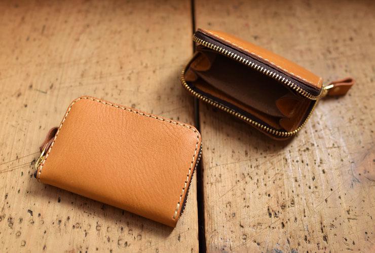 2fd5edfd15cc 手のひらサイズで収納力抜群のコンパクト財布「革鞄のHERZ(ヘルツ)公式通販」
