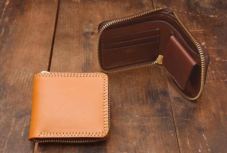 HERZ(ヘルツ)二つ折り財布