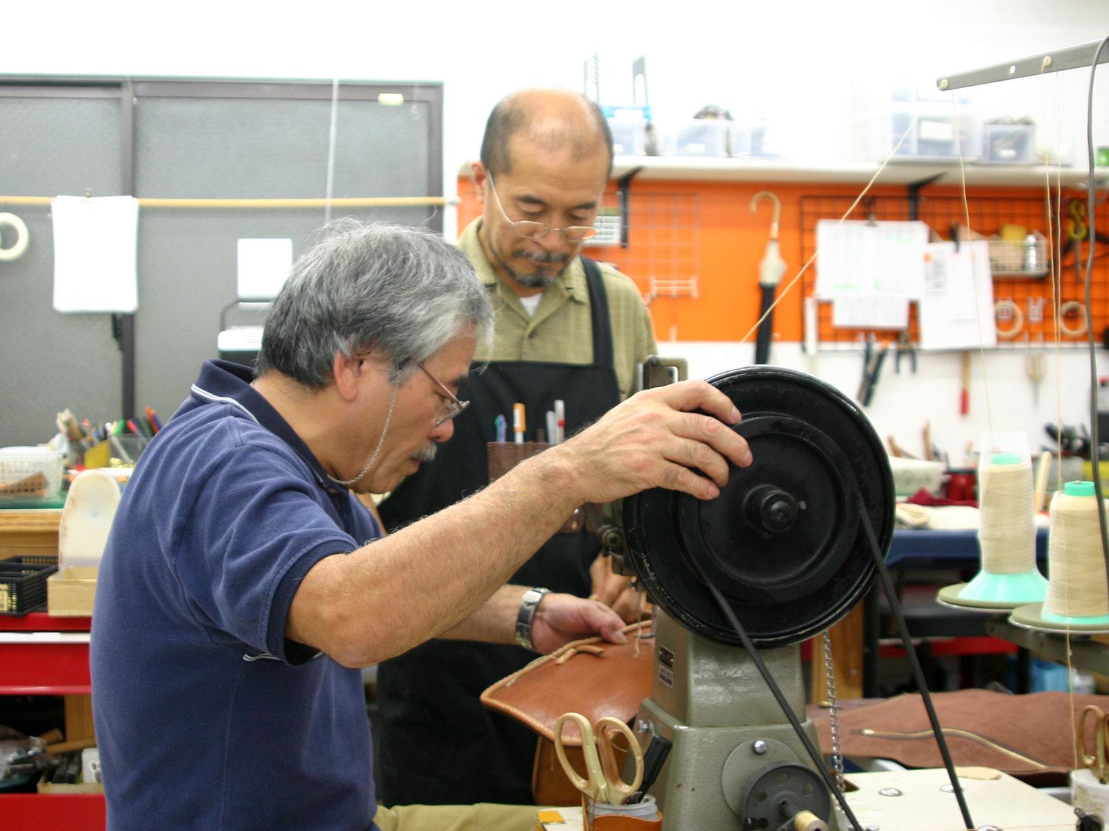 作り手から作り手へ 技術を伝え合う