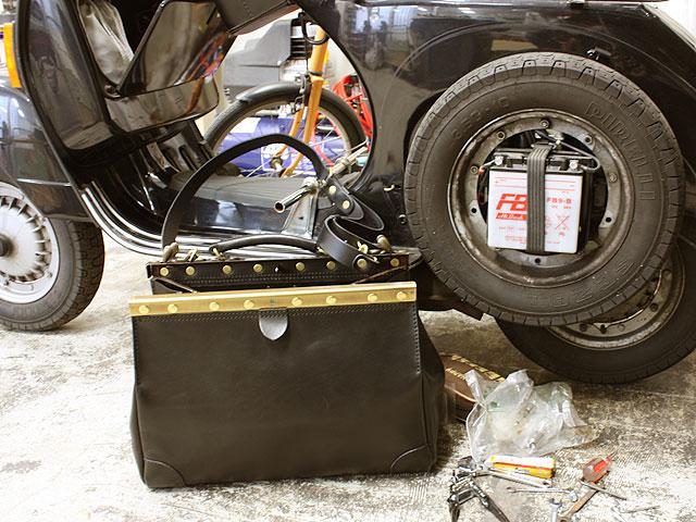 2wayガレージボストンバッグ 清水使用品