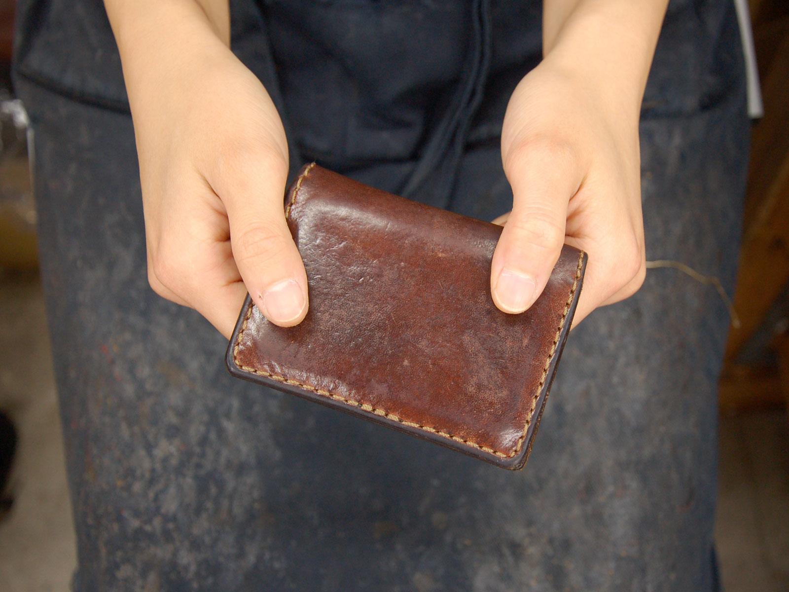 スタッフ愛用品:Organカードケース