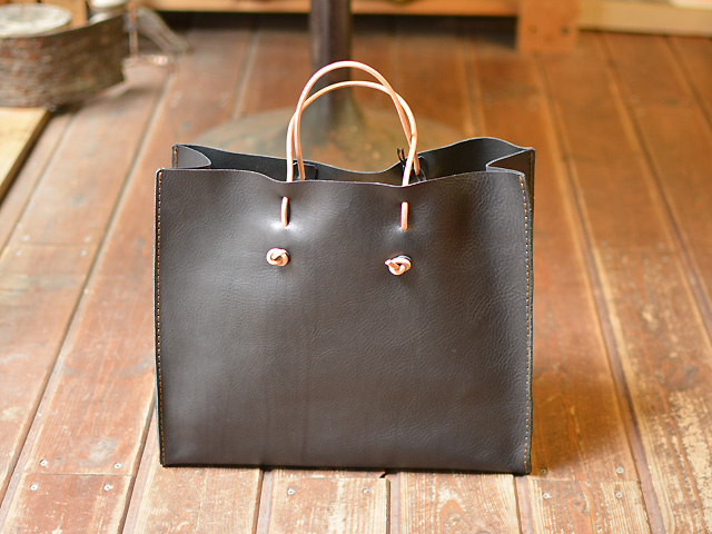 革紙袋 黒