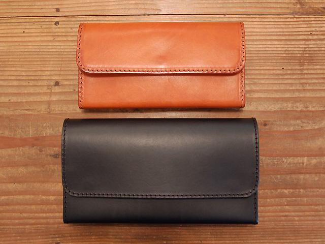 クラッチタイプの長財布たち