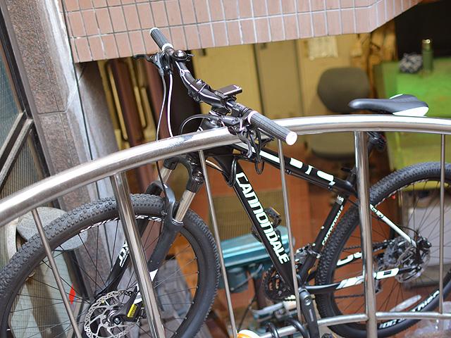 スタッフの愛用自転車2