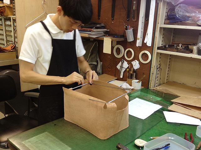 作り手:村松 試作風景