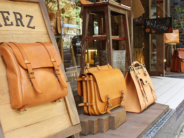 仙台店 看板鞄たち