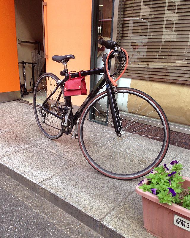 博多工房 向 自転車バッグ