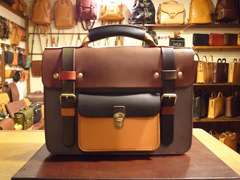 学生鞄風・2wayビジネスバッグ(BC-16) マルチカラー1