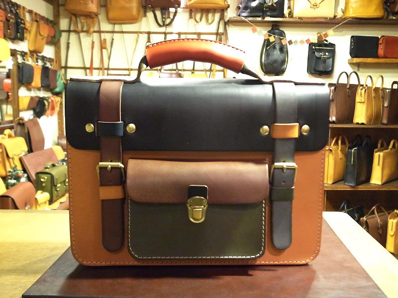 学生鞄風・2wayビジネスバッグ(BC-16) マルチカラー3