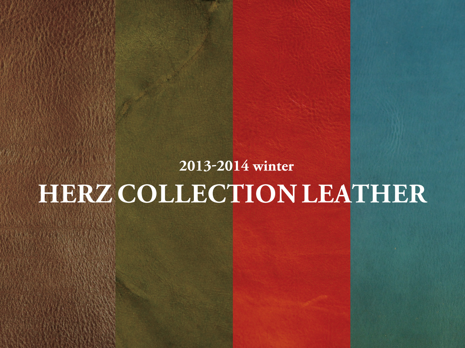 ARTT2013年11月末 SHERZ COLLECTION LEATHER2014 winter-2013