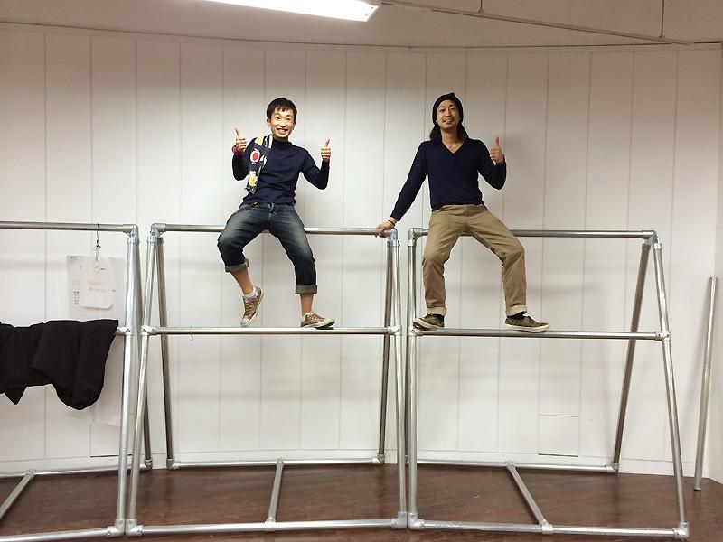 作り手:袴田と西川