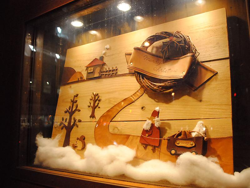 大阪店 クリスマスディスプレイ5