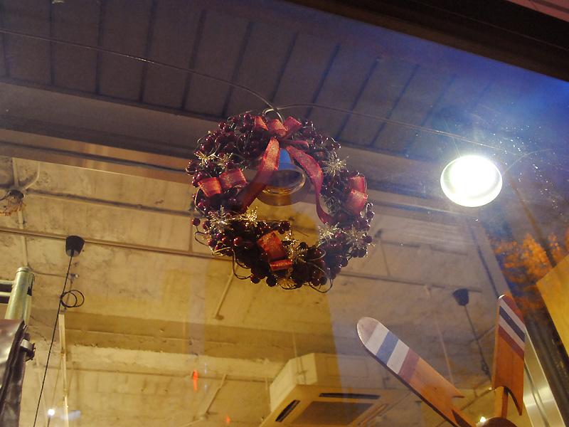 大阪店 クリスマスディスプレイ2
