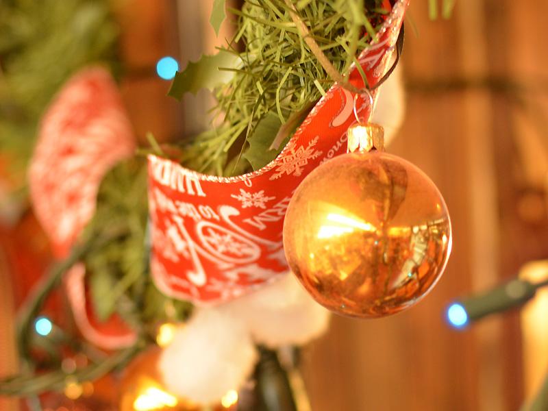 FACTORY SHOP クリスマスディスプレイ2