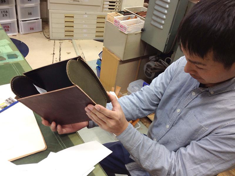 作り手:波多江の試作風景