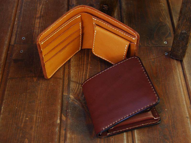 二つ折り財布(WS-8)