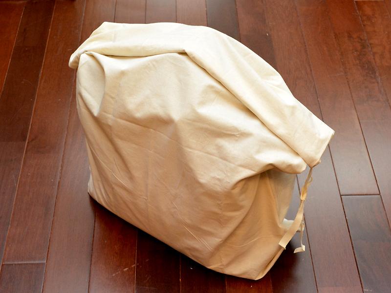 リネンコットンの外袋