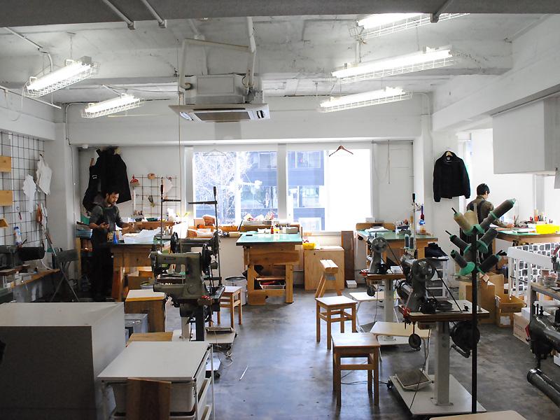大阪店、工房