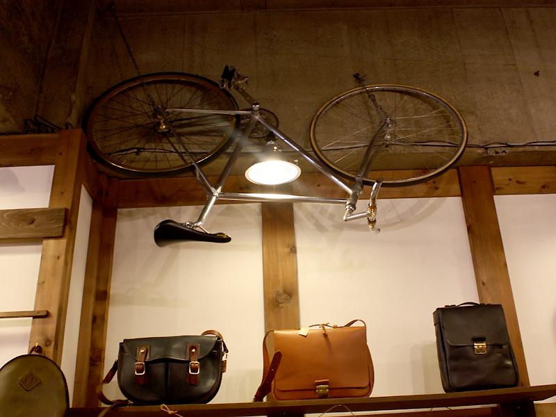 さかさの自転車