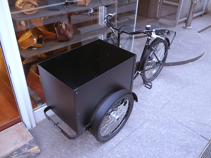 自転車 verygood号 カゴ