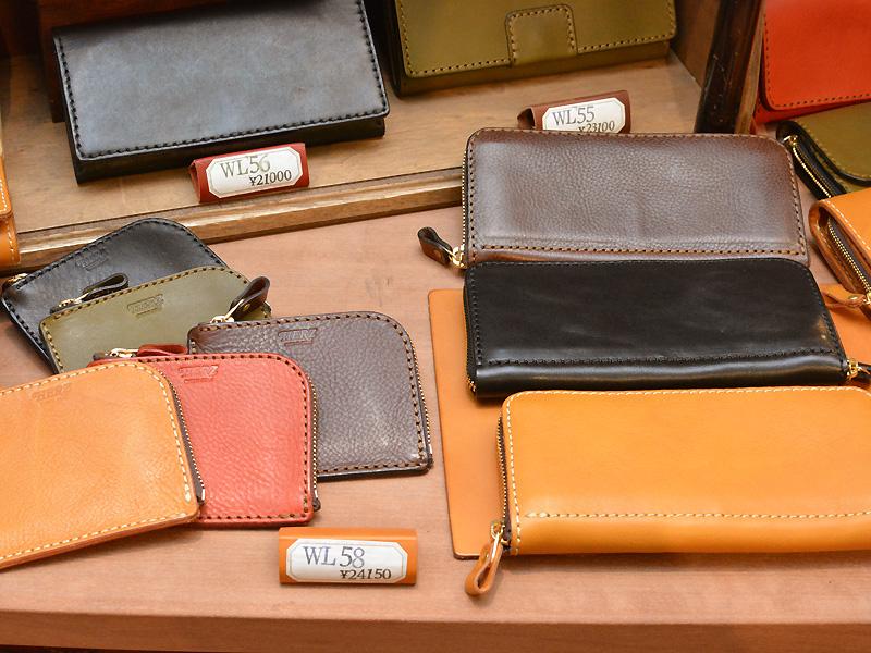 本店 長財布とファスナー財布
