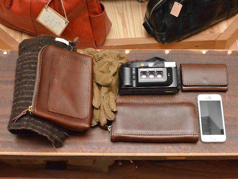 博多工房発のサンプル鞄(口枠2wayショルダー) 収納例