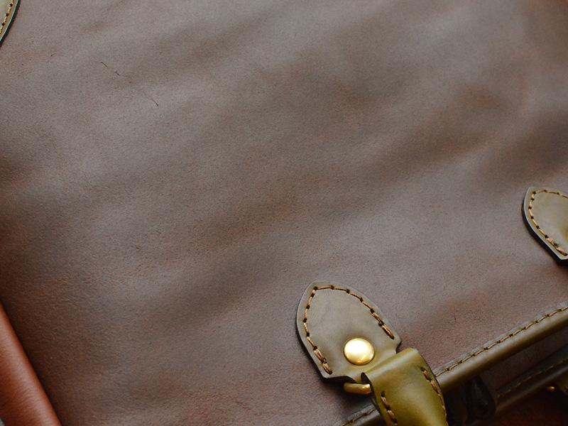 2wayビジネストートバッグ(T-7) 床革