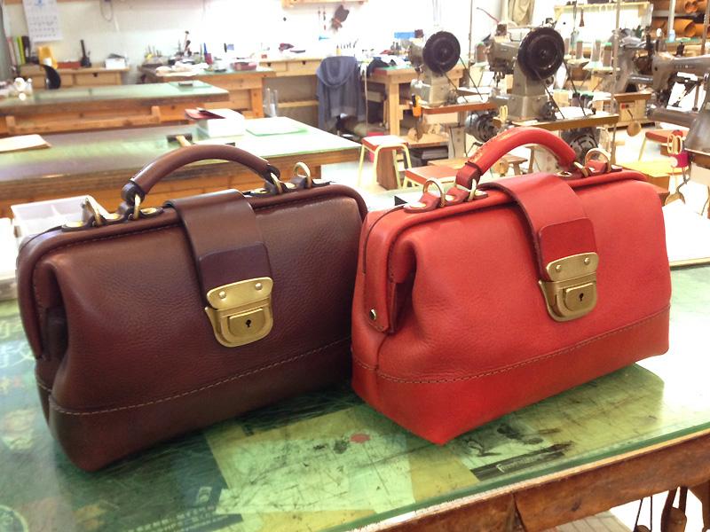 博多工房発のサンプル鞄(口枠2wayショルダー)
