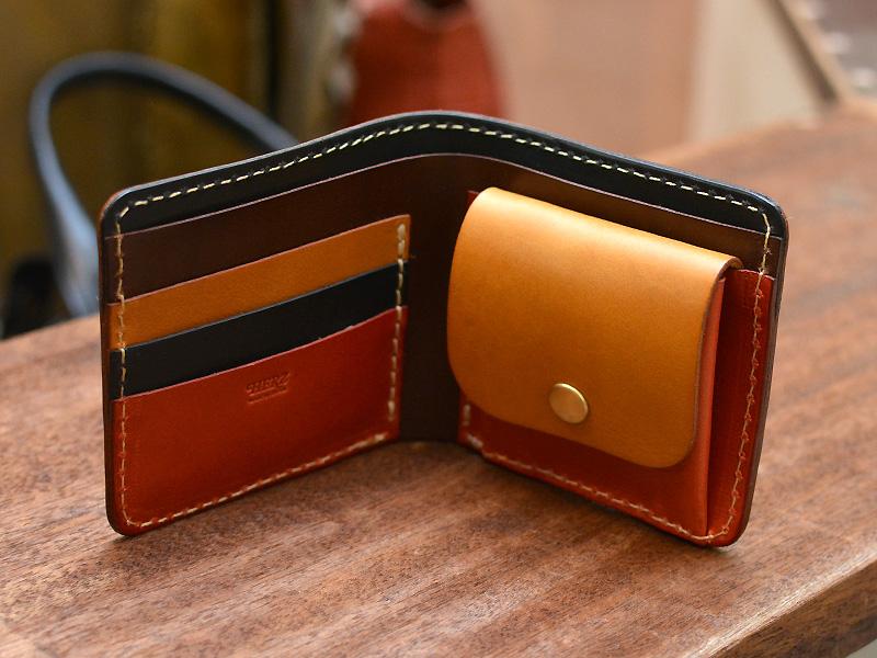 二つ折り財布(WS-5) マルチカラー