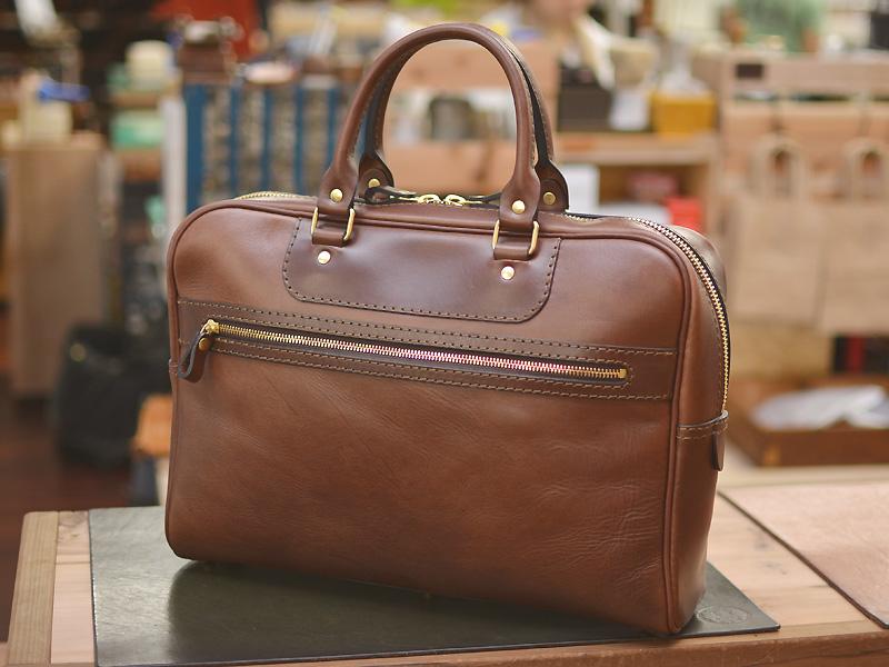 サンプル二本手ビジネスバッグ