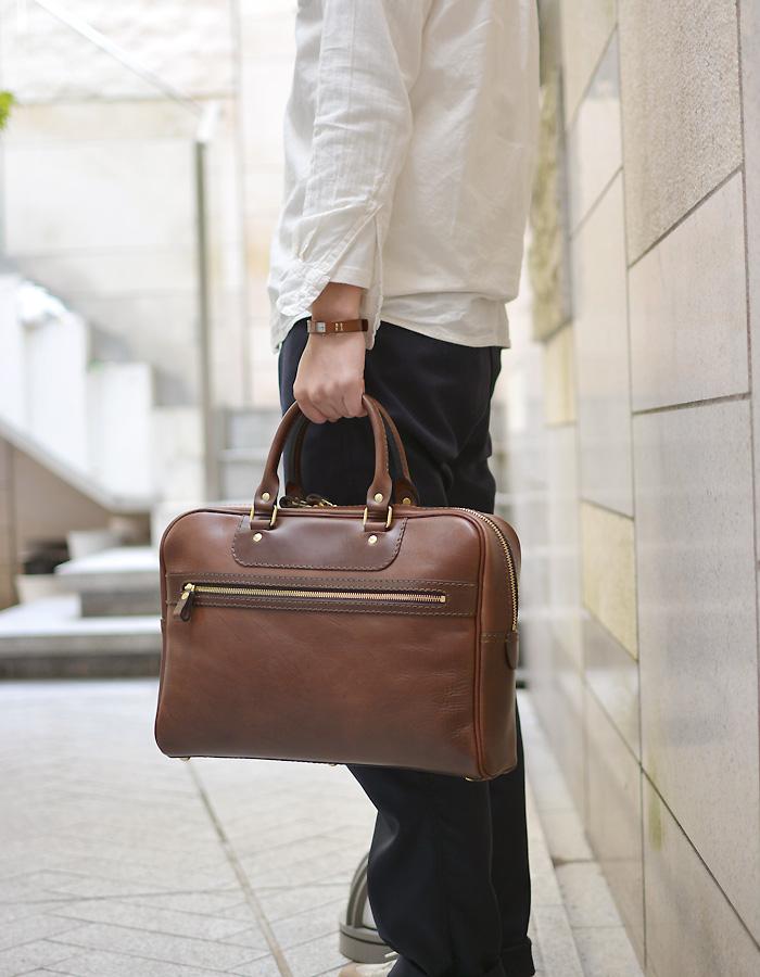 サンプル二本手ビジネスバッグ 手持ち
