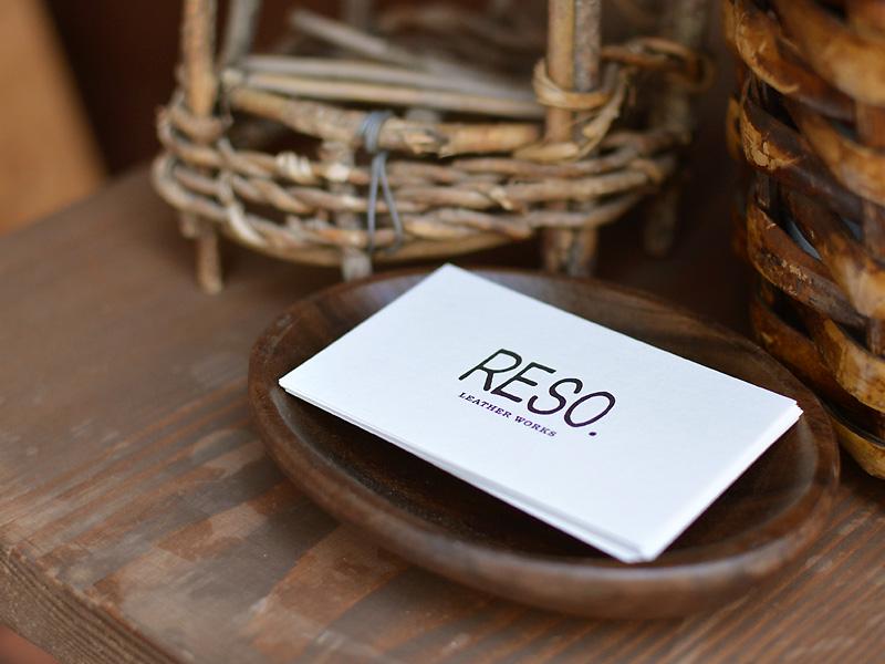 RESO.ショップカード