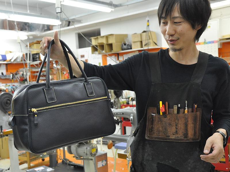 作り手:佐藤の鞄