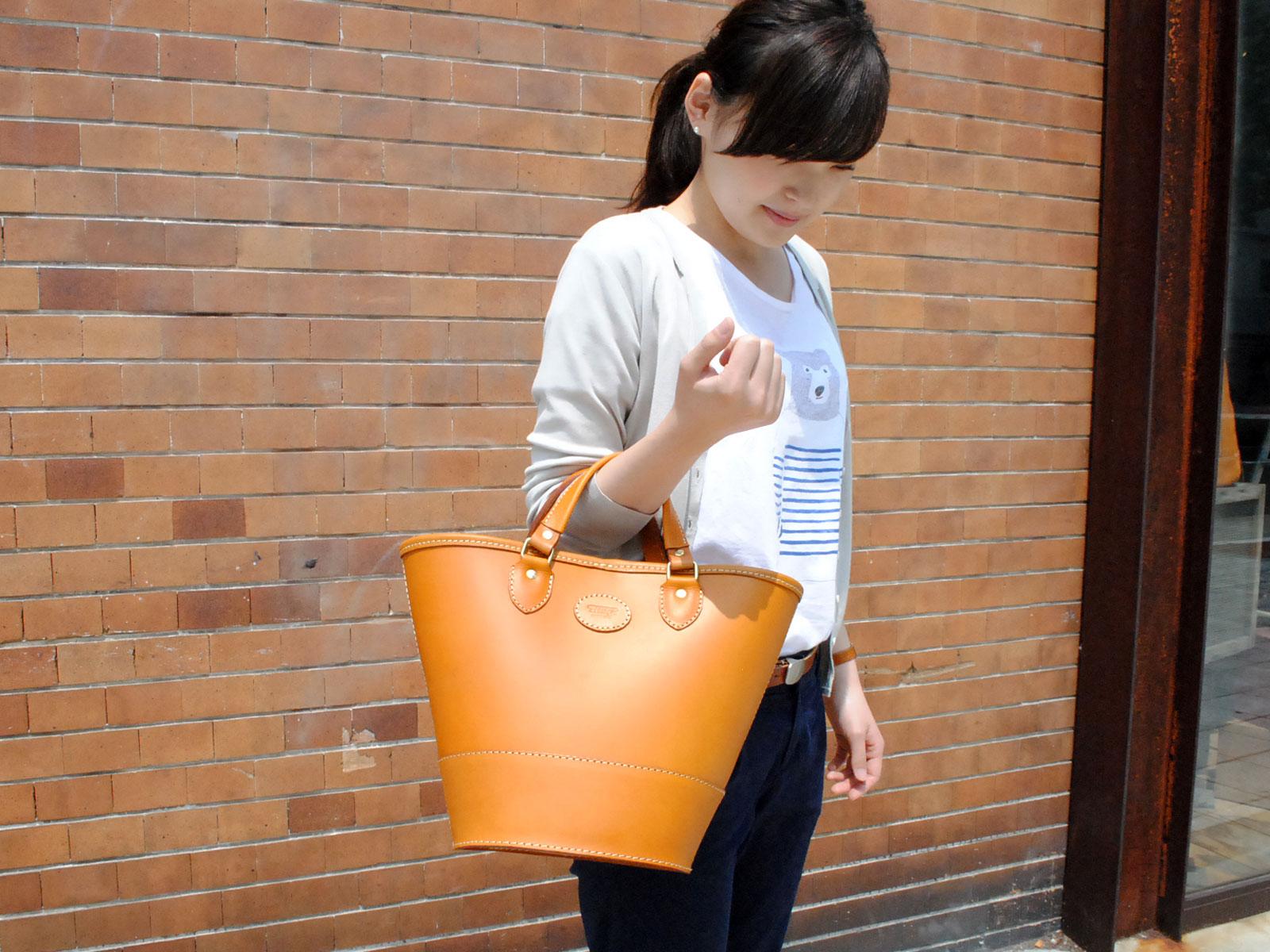 大阪店3周年記念バッグ Vol.6 楕円トートバッグ
