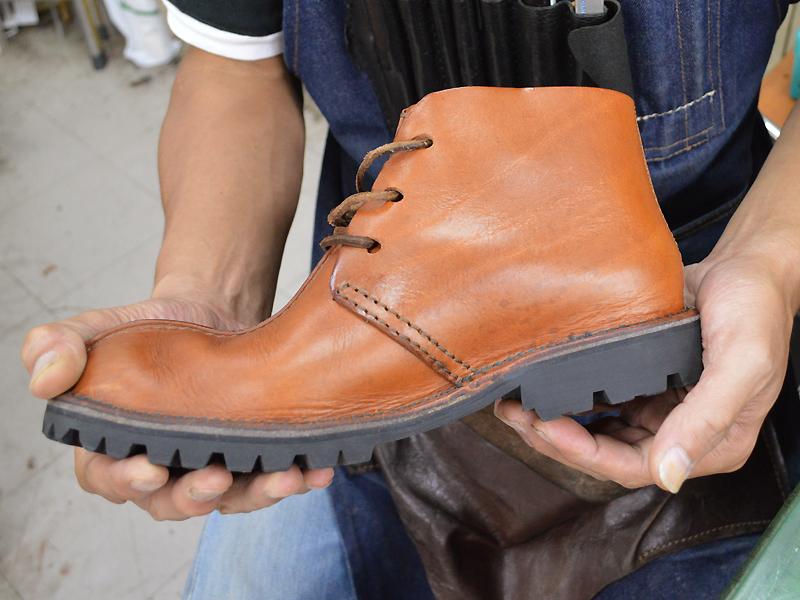 鈴木さんのブーツ!