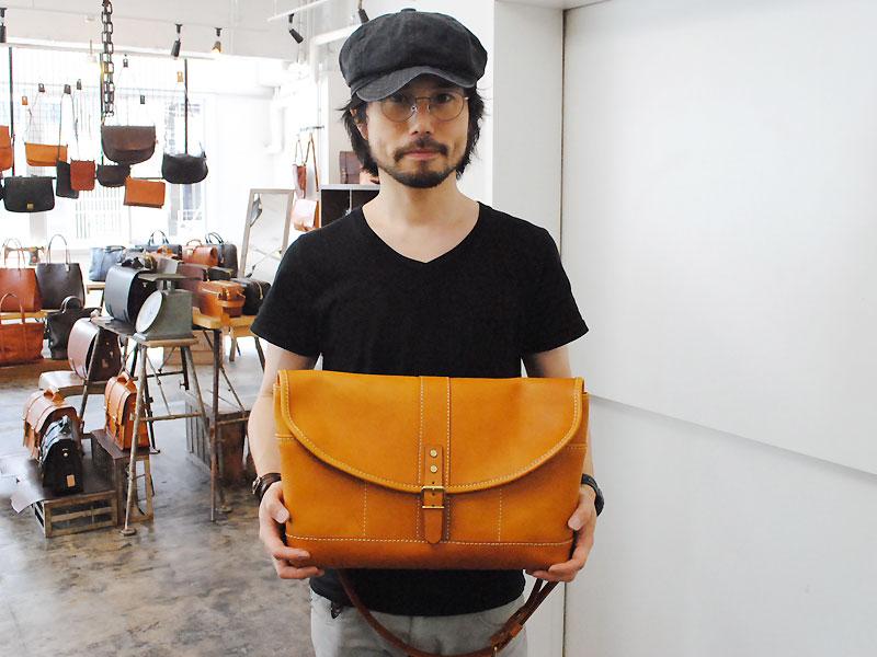 多収納メッセンジャーバッグ 作り手:松本