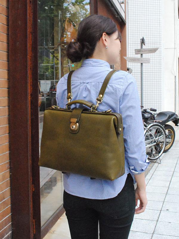 ビジネスバッグ 特別仕様 女性着用