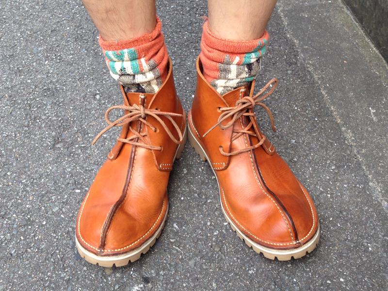 靴下もこだわり