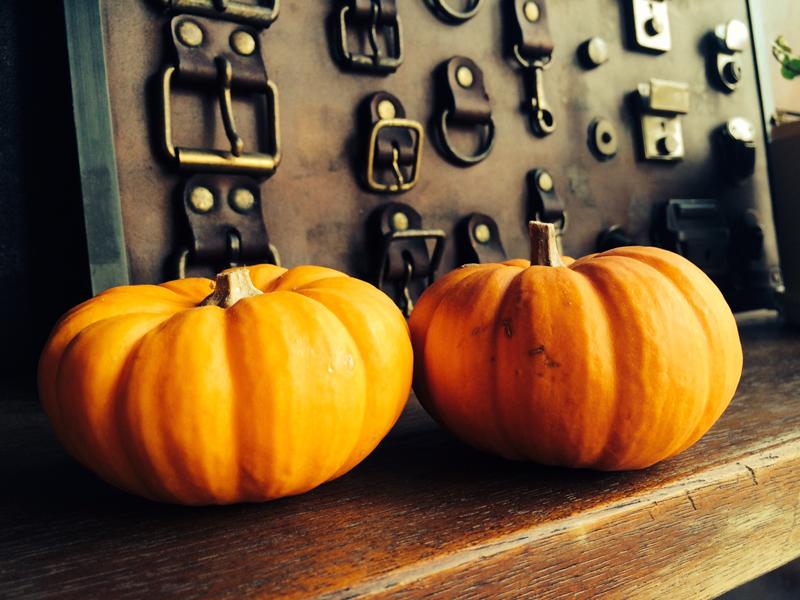 かぼちゃと金具と