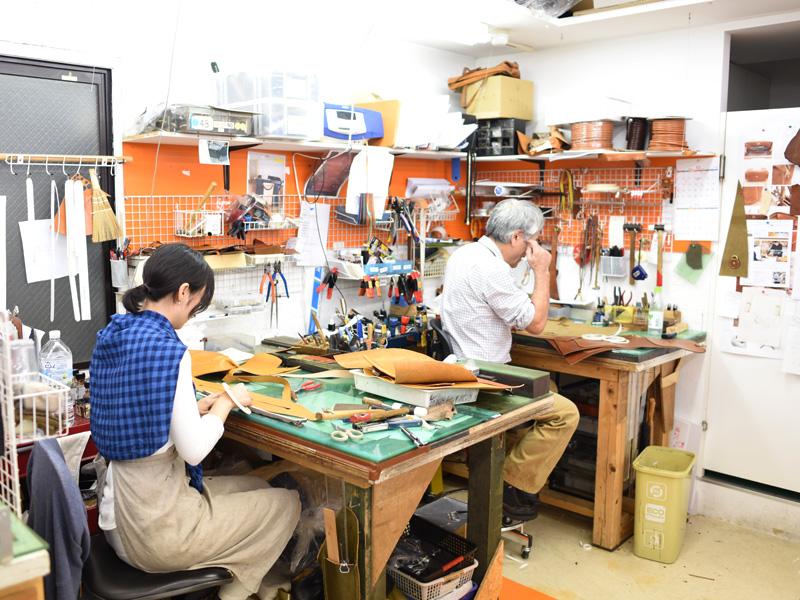 創業者の近藤と作り手の下田