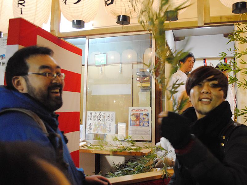 笹を選ぶ 大阪店スタッフ