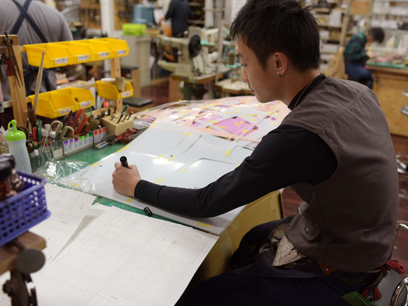 作り手:袴田
