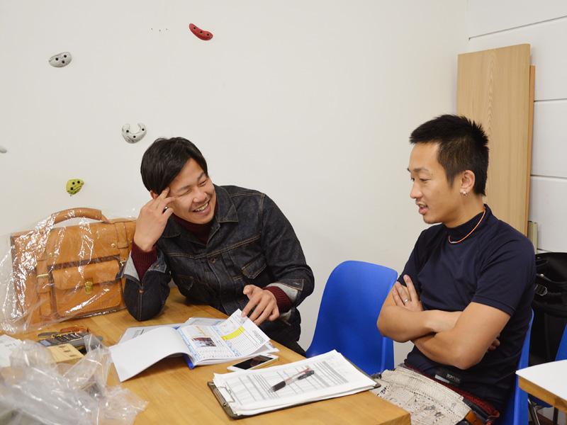 スタッフ上広と作り手:袴田