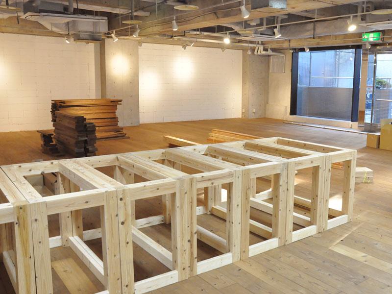 名古屋製作机 木枠