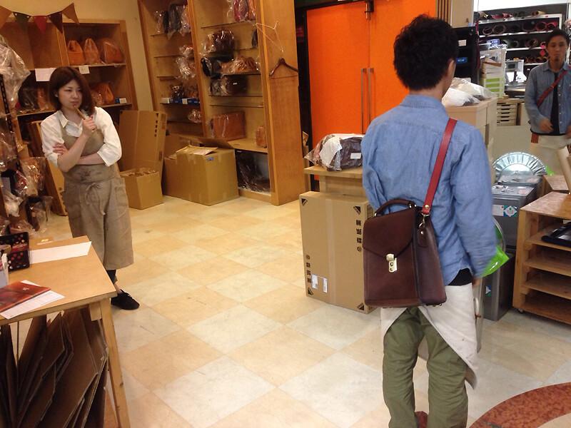 作り手:濱田のショルダーバッグ