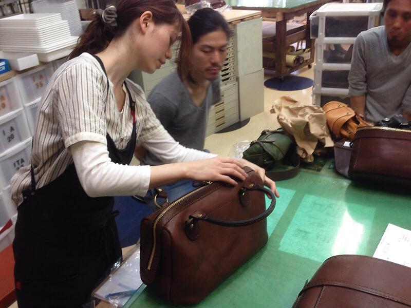作り手:松尾のボストンバッグ