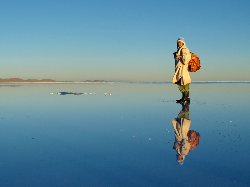 世界を旅する大型ギャジット3wayリュック ~ウユニ塩湖編~