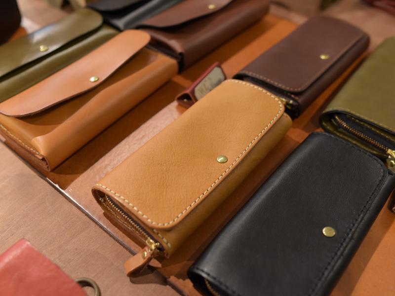 長財布たち